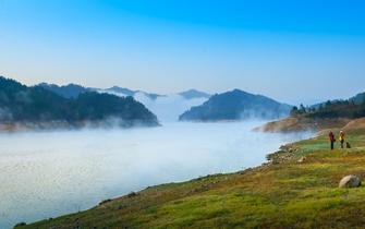 罗田天堂湖美景如画