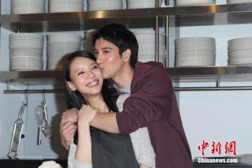 王力宏与妻子 资料图