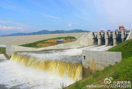 吉林省有5座中型水库受降雨影响超汛限水位运行图片