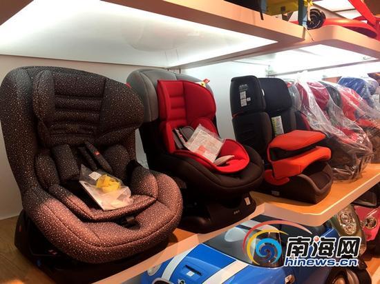 从9月1日起,我国对儿童安全座椅产品实施强制性3C认证。(南海网记者陈望摄)