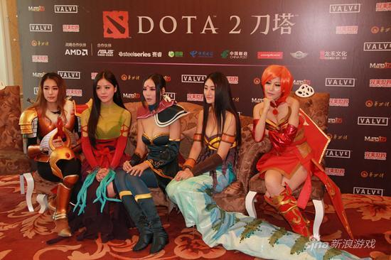 中国最惊艳高清DOTA2女神DN女子舞曲战队私战队性感mp4性感图片
