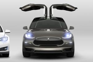 特斯拉Model X开启预订:但续航仅380km