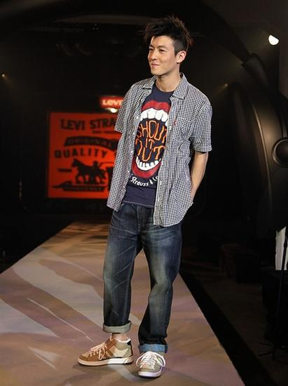 陈冠希早期衬衫造型