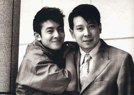 陈冠希和爸爸