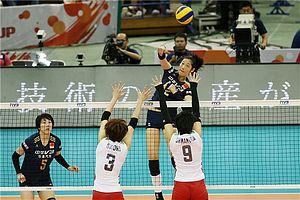 女排世界杯中国3-1日本 第四度折桂直通里约奥运