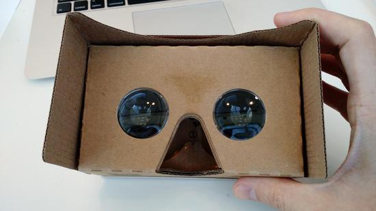 谷歌公布第二代VR紙盒眼罩參數:用戶可DIY