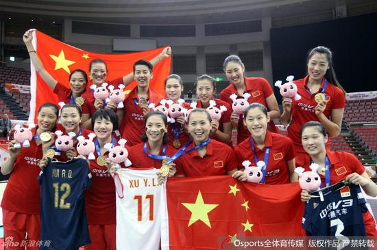 中国女排时隔12年再得世界冠军