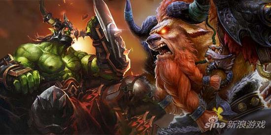 全民超神牛头人vs兽人之神 肉盾英雄对比
