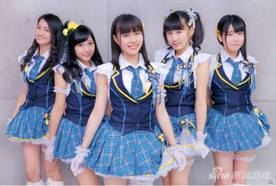 日本美少女团体加盟《东京迷城》 tgs2015登台