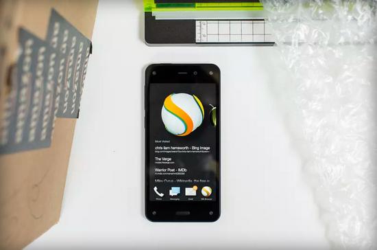 亚马逊推出的智能手机Fire Phone
