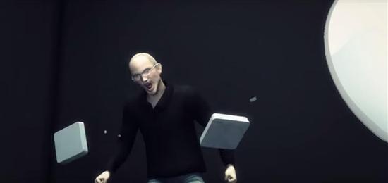 乔布斯怒踩Smart Keyboard键盘