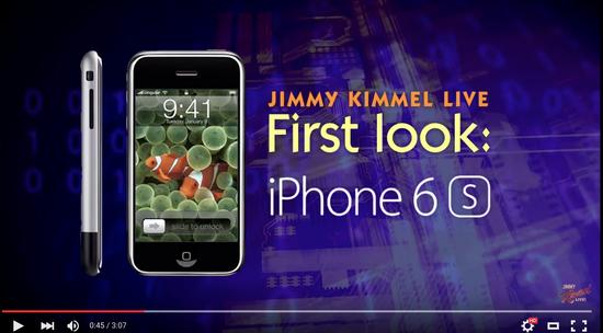 信仰的力量:美国电视节目用第一代iPhone恶搞果粉