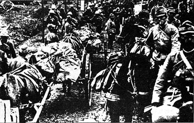 日本侵略军入侵华北