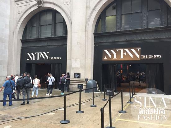 纽约时装周新地址