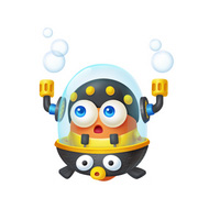 保卫萝卜3潜水员萝卜