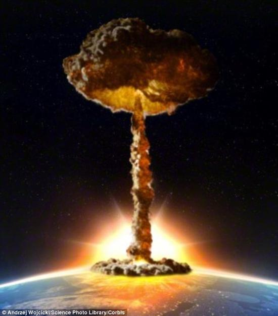 在核弹爆炸中,热量的释放大约占到整个爆炸能量释放的35~45%,这就意味着核爆炸能够在极短促的时间内产生巨量的热量,这一效应可以被利用来实现对火星大气的加热