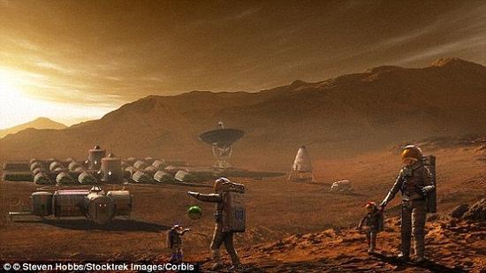 火星上出生的第一代人?专家指出,火星表面的强烈辐射环境将对人类生殖系统造成破坏,进而影响人类繁育后代的能力