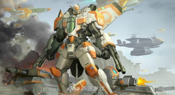 《空甲联盟》攻击机