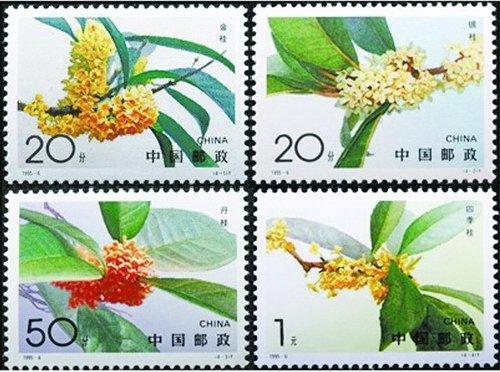 發行於1995年的桂花特種郵票。