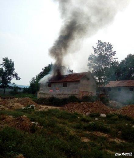 官方:山东强拆事件大火系死者自身行为所致