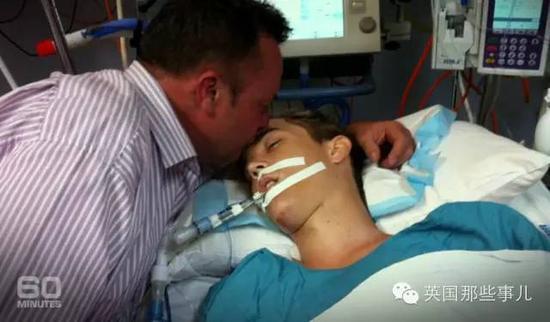 再见时,儿子已躺在医院里