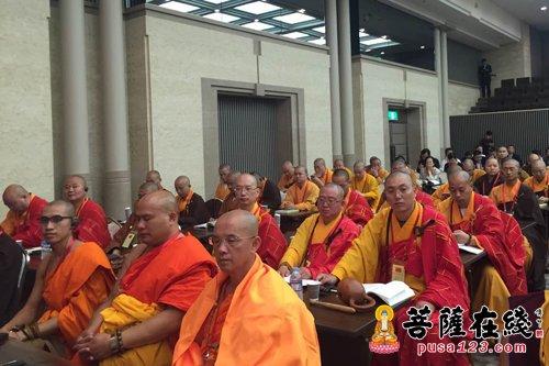 """本次中韩日佛教友好交流会的会议主题为""""回归原点――构筑心灵的和平"""""""
