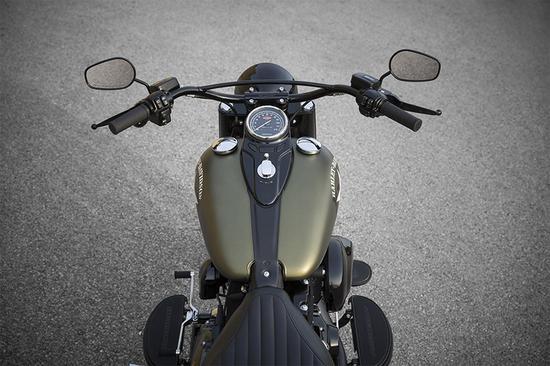 限量定制 极简主义的哈雷软尾司令S摩托车|哈