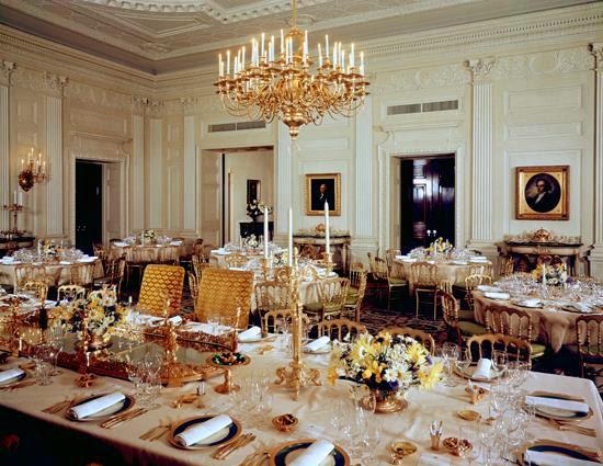 美国白宫国宴宴会厅
