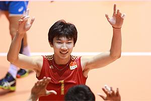 男排世青赛中国3-0意大利 中国队4人得分上双