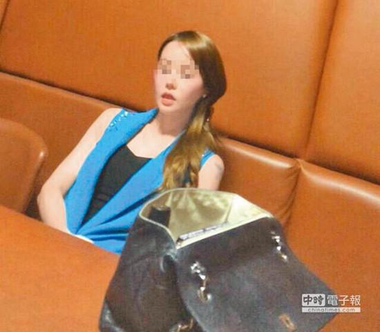 """貌似韩国艺人河莉秀的31岁韩国籍宣女,自称大学生赴台卖淫。(图自台湾""""中时电子报"""")"""