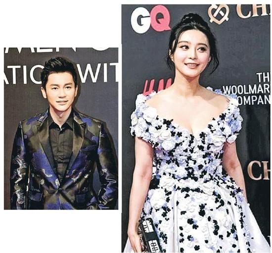 李晨透露身穿的迷彩西装是女友范冰冰所送。