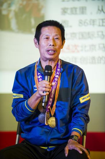 曾参与北马24届的平民跑者。