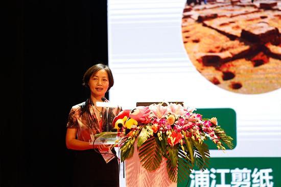 浙江省浦江县旅游局副局长于丽萍