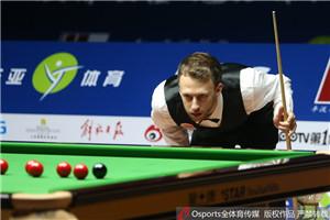 上海赛对攻大战特鲁姆普6-3宾汉姆 第2次进决赛
