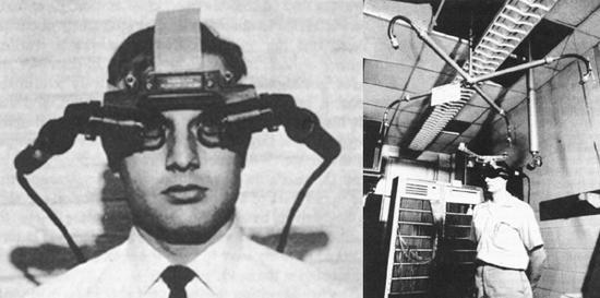 最早的虚拟现实头显:诞生于上世纪60年代的达摩克利斯之剑