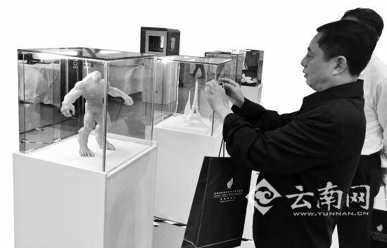 雲南首批3D打印機下線 售價數千元到1萬元