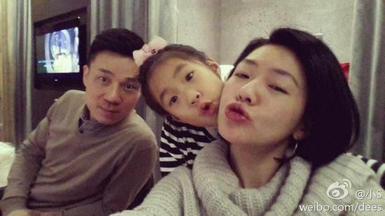 小S和老公女儿