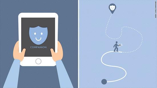一个人走夜路不安全 这款App能帮你实时报平安