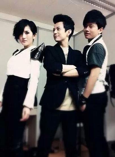 何炅、张杰和谢娜