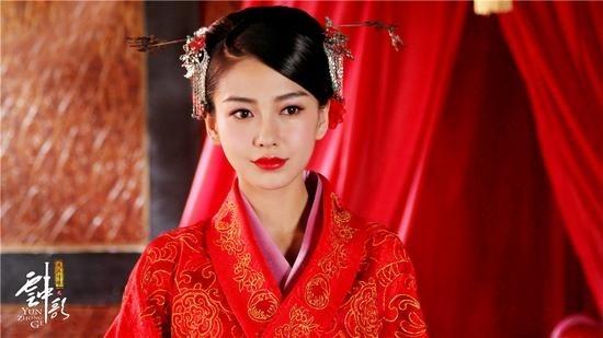 【婚嫁】《大汉情缘之云中歌》Angelababy婚服曝光