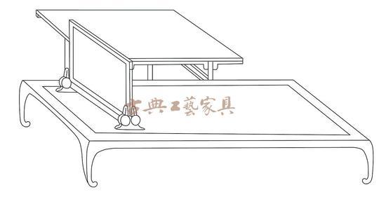 圖4 南宋佚名《荷亭兒戲圖》中的枕屏