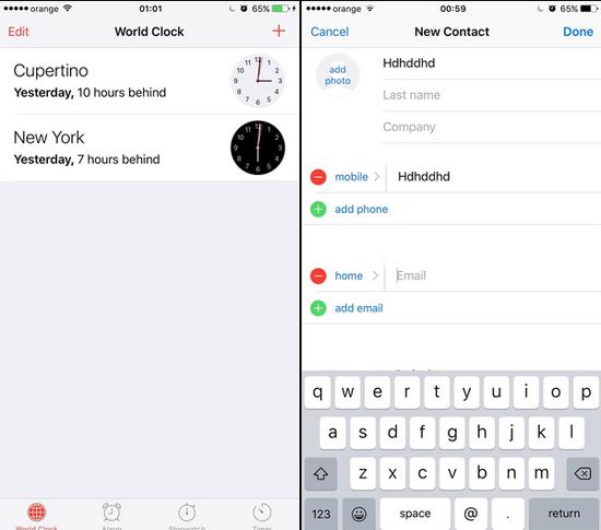 iOS9又曝大Bug:可繞過鎖屏密碼訪問隱私內容