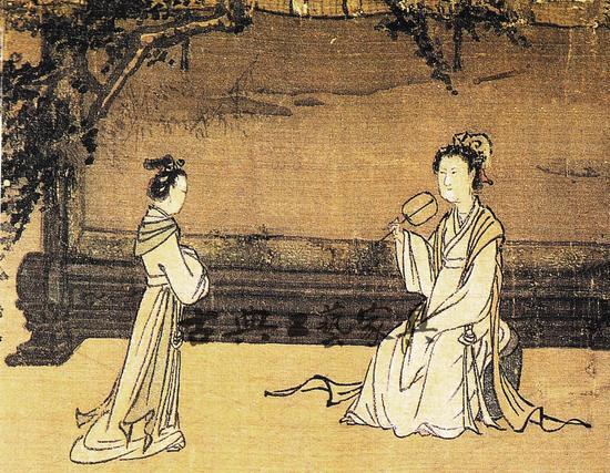圖2 南宋馬和之《女孝經圖》中的屏風