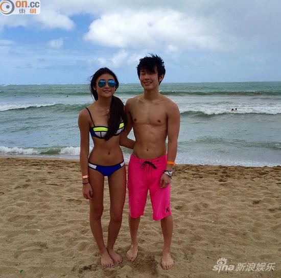 胡芷欣和男友