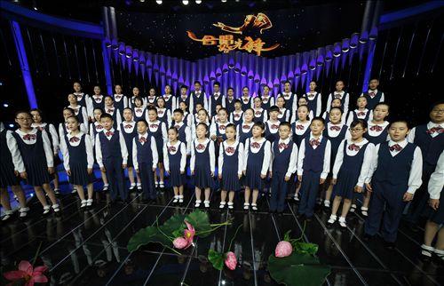 无锡市少年宫在中央电视台放送江南水乡童声