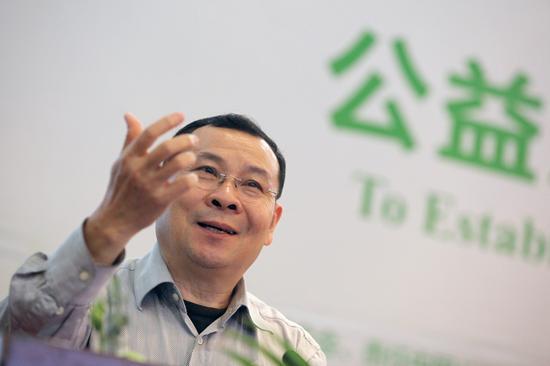 责任中国公益盛典评委会主席、南都公益基金会理事长徐永光