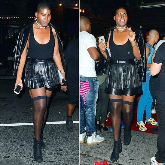 EJ Johnson列入纽约时装周的秀后派对