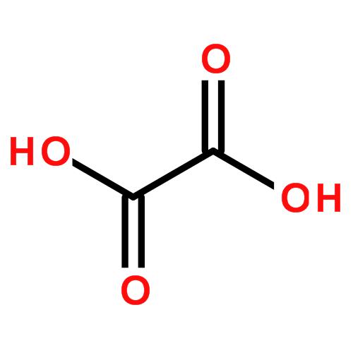 草酸的化学分子结构式