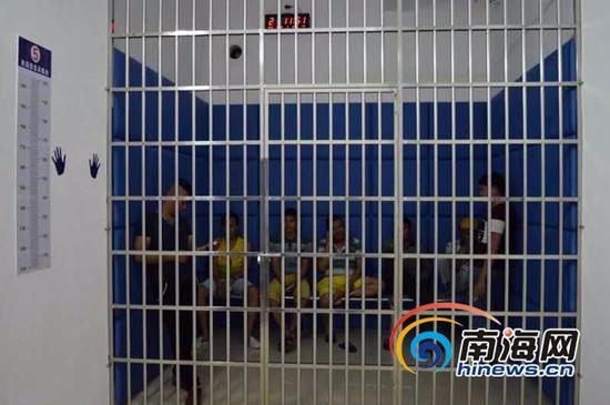 """海南省交警总队在全省组织集中查""""酒驾""""、""""毒驾""""统一行动,多名醉猫被逮。 (交警供图)"""