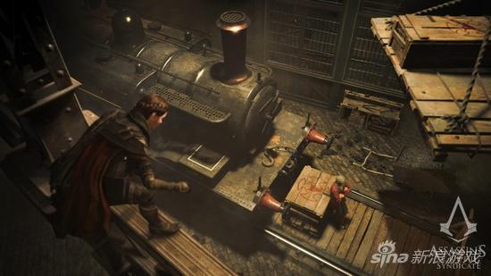 《刺客信条:枭雄》游戏画面